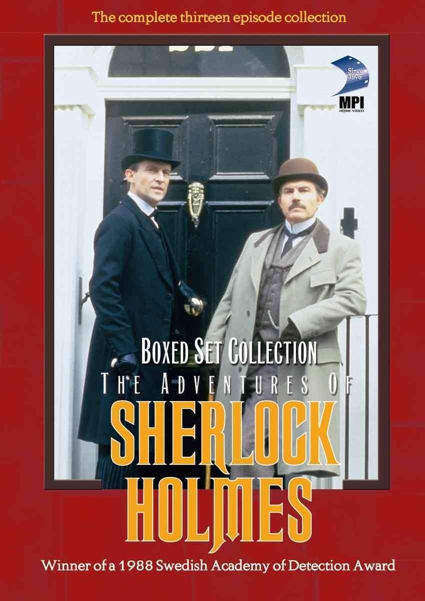 ADVENTURES OF SHERLOCK HOLMES BOX SET BY SHERLOCK HOLMES (DVD)