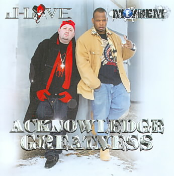 ACKNOWLEDGE GREATNESS BY J-LOVE (CD)